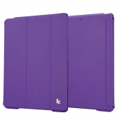 Чехол Jisoncase Smart Cover для Apple iPad Air/Air2 Purple