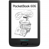 Электронная книга PocketBook 606 8 ГБ черный