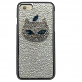 Накладка Ddpop Style Apple Cat для iPhone 7 White