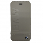 Чехол CG Mobile BMW Folio Booktype для iPhone 7 Gray BMFLBKP7LLST