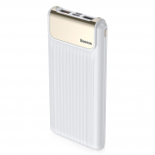 Baseus Thin QC3.0 M+T Dual Input Digital display Power Bank 10000mAh White PPYZ-C02