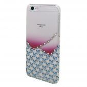 Накладка X-Fitted Crystal Hardness Hearts для IPhone 6/6S P6XX