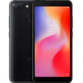 Смартфон Xiaomi Redmi 6 3/64Gb Черный (Global Version EU)