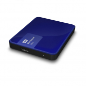 Жесткий диск HDD Western Digital WDBNFV0030B My Passport Ultra 3Tb Noble Blue