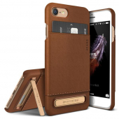 Накладка VRSDesign Simpli Leather Series для  iPhone 7 Brown