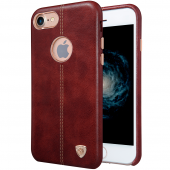 Накладка Nillkin Englon Leather Cover для Apple iPhone 7 Brown