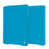 Чехол Jisoncase Smart Cover для Apple iPad Air/Air2 Blue