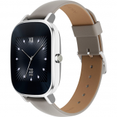 Умные часы ASUS ZenWatch 2 (WI502Q) leather Silver Khaki